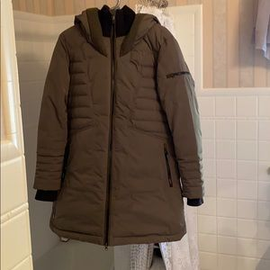 Lole mid-length winter jacket, super warm-CUTE!